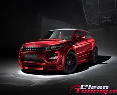 Wide Body of Range Rover Evoque by Hamann