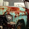 Nostalgic Photographs Art Old Truck  fine art print by MollysMuses