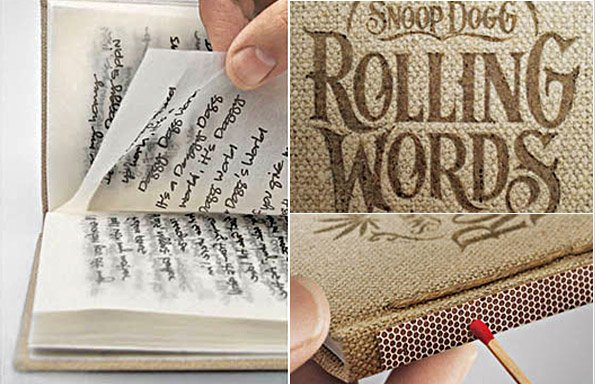 Rolling Words Snoop Dogg S Smokable Book Headlines