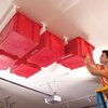 Create a Sliding Storage System On the Garage Ceiling | The Family Handyman