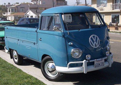 1960 Volkswagen Pickup Truck Gentlemint