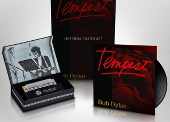 "Bob Dylan's new record ""Tempest"""