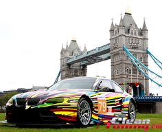 BMW Art Cars in London | CleanTuning.com