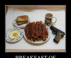 Bacon and guns