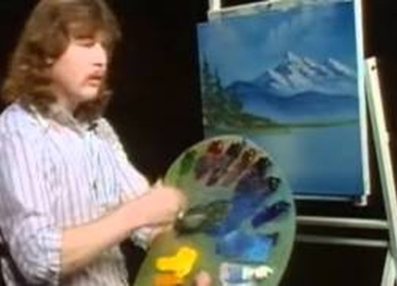 Tribute to Steve Ross (son of Bob Ross) aka Tumblr's Sex God ♥ミ      - YouTube