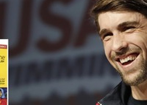 Michael Phelps Using Rosetta Stone To Brush Up On His English   The Onion - America's Finest News Source