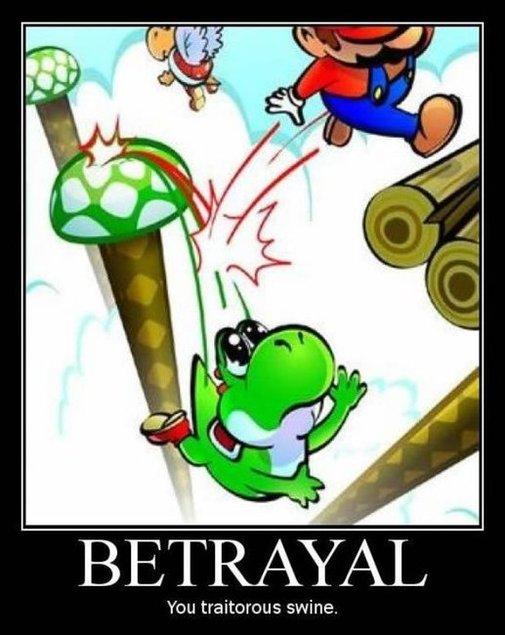 Mario and Yoshi Meme