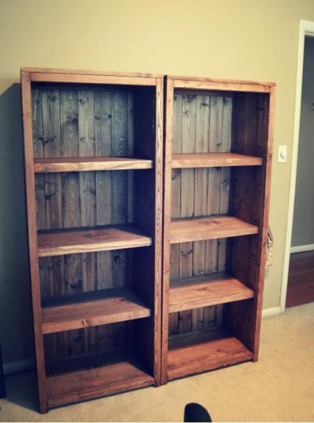 ana white bookcase