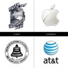 How company logos looked in the past vs today | Today I Learned Something New