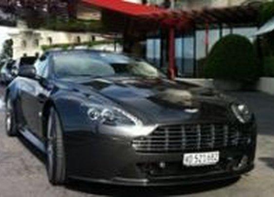 James Bond Aston Martin Driving Package