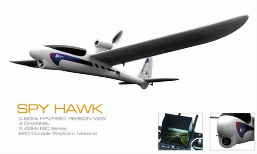 Spy Hawk FPV RC Plane