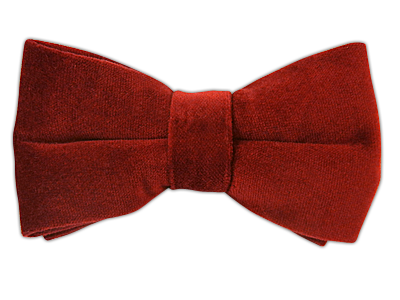 Velvet - Red (Bow Ties) - Velvet - Red (Bow Ties)