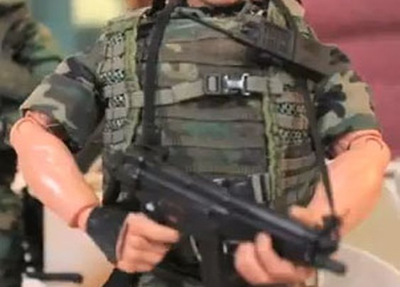 Navy Seal Stop Motion Terrorist Elimination