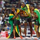 Jamaicans celebrate 200m clean sweep - ABC News (Australian Broadcasting Corporation)