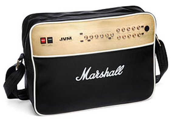 ThinkGeek :: Marshall Power Amp Laptop Bag