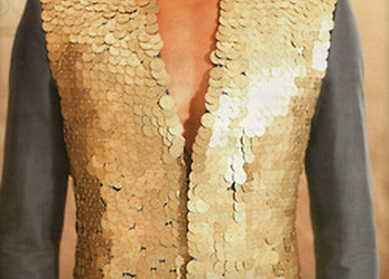 Don't be shy of sequins