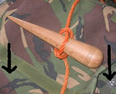 Freeloader camp: The Marlinspike Hitch
