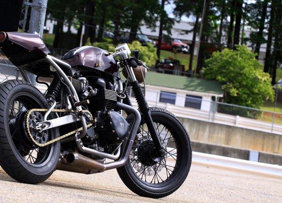 Custom 2008 Triumph Thruxton