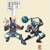 Transforming Samurai Warriors [T-Shirt]