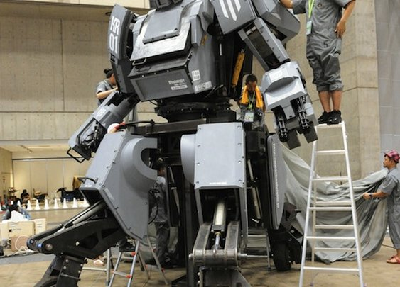 Japanese Company Creates Robot That You Can Ride And Battle In - DesignTAXI.com