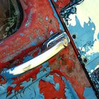Antique Car photography milk Truck rusted out car by MollysMuses