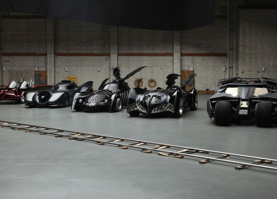 Batmobiles Through The Years