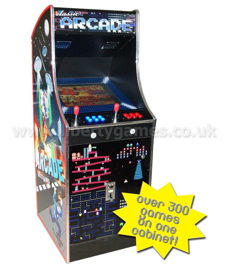 Galaxy Cosmic III 300-1 Multi Game Arcade Machine | Liberty Games ...