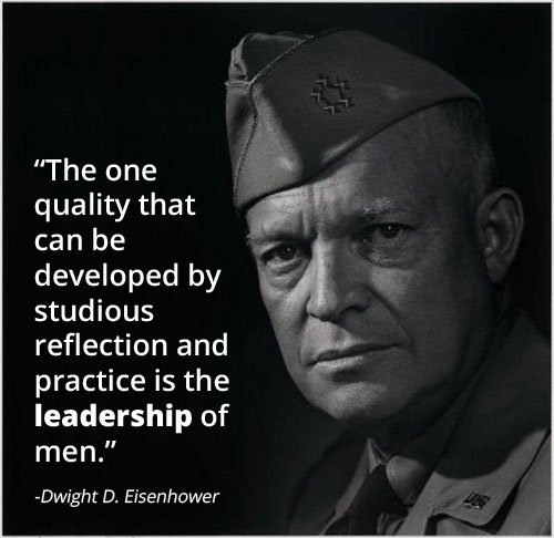 Leadership Lessons from Dwight D. Eisenhower #4: Always Ready   The Art of Manliness