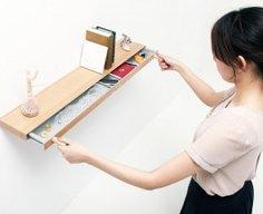 Secret Compartment Drawer Shelf