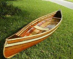 Build your own Cedar Strip Canoe