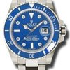 Bright blue Submariner