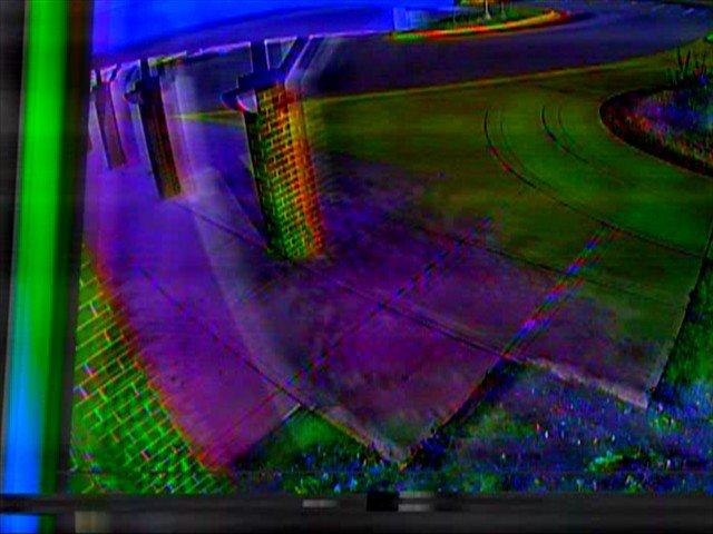 security camera glitches