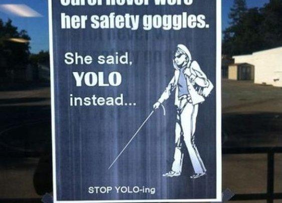 Stop YOLO-ing