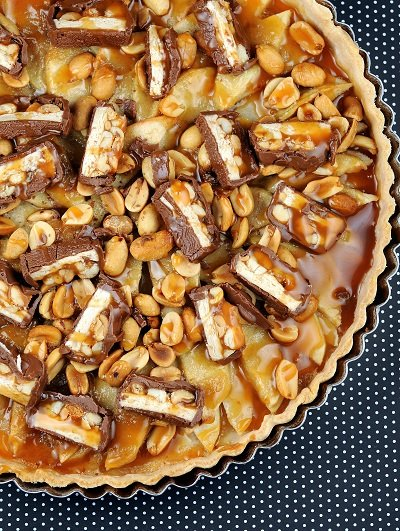 Snickers Apple Tart
