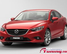 The New Mazda 6 at Moscow Auto Show | CleanTuning.com