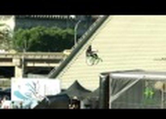 Man Lands First Jump on MegaRamp in Wheelchair