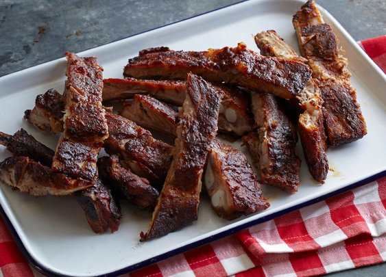 Kansas City Style Pork Ribs Recipe : Patrick and Gina Neely : Recipes : Food Network