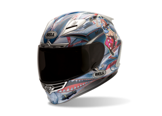 Star Motorcycle Helmet - Bell Sports