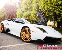 SR Auto Shows The Murcielago SV Golden Renaissance | CleanTuning.com