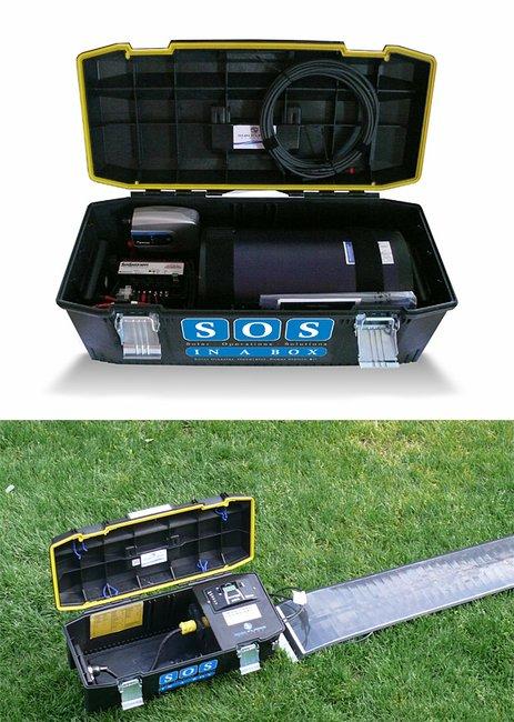 SOS in a Box Solar Generator at werd.com | Gentlemint