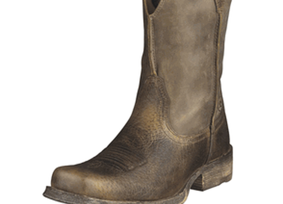 Western Boots - Ariat Rambler Square Toe Boots for Men