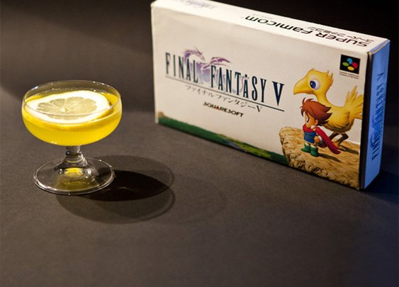 Chocobo (Final Fantasy cocktail)