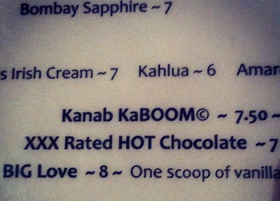 XXX Rated Hot Chocolate?