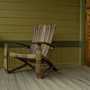 Whiskey Barrel Adirondack Chair With Free Shipping by balazs22