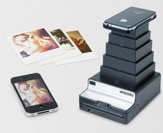 Impossible Instant Lab turns iPhone snapshots into Polaroid prints