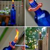 diy project: erik's recycled wine bottle torch | Design*Sponge