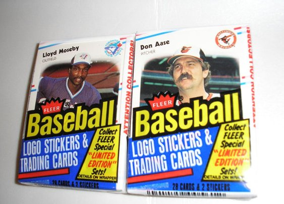1988 Fleer Vintage Basbeball Cards  2 packs  56 Cards by daddydan