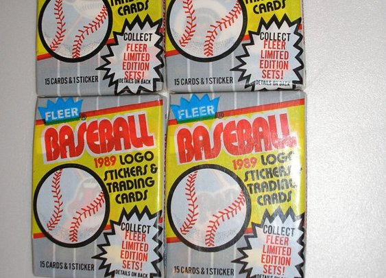 1989 Fleer Vintage Basbeball Cards  4 packs  60 Cards by daddydan