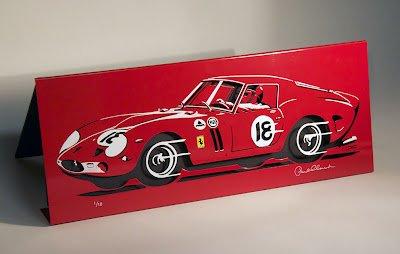 Laser-cut Ferrari GTO