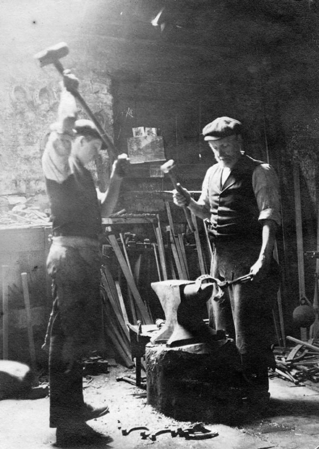 Lessons Learned from Longfellow's Blacksmith | The Art of Manliness